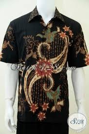 desain baju batik pria 2014 koleksi terbaru pakaian batik pria proses tulis soga baju batik