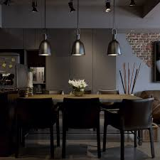 dark modern dining room interior design ideas