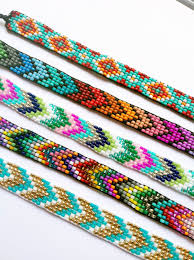beads friendship bracelet images Custom beaded friendship bracelet you choose the colors jpg