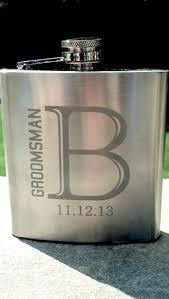 Personalized Kitchen Gifts by Best 25 Groomsmen Hip Flask Gifts Ideas On Pinterest Wedding