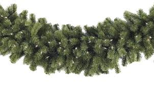 christmas garland lighted christmas garland sequoia fir prelit commercial christmas