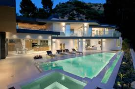 modern house california world of architecture impressive modern home in hollywood hills