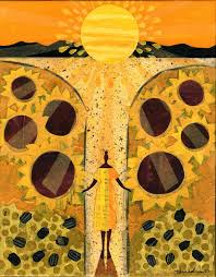Roxbury Sunflower Wisdom Festival with sparc The ArtMobile