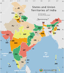 Bhopal India Map by State And Union Territories India Map Maps Of India