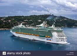 royalcaribbean the cruise ship ms liberty of the seas of royal caribbean stock