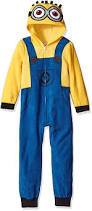 despicable me family halloween costumes amazon com despicable me boys u0027 minion family cosplay union suit