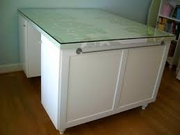 counter height craft table spring chick s to die for craft room ikea cabinets ikea hackers