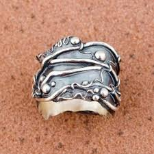 art silver rings images 72 best metal clay rings images metal clay rings jpg