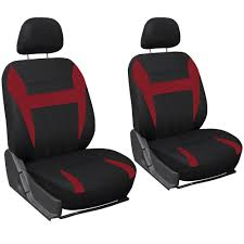 Vintage Ford Truck Seat Covers - amazon com oxgord car seat covers mesh fabric red black 17