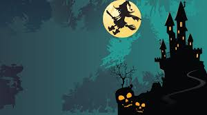 quidsup halloween moon with witch jpg