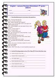 english teaching worksheets 5th grade