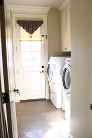 Laundry Room White Cabinets by Painting My Cabinets Gray Shanty 2 Chic