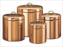 Kitchen Canisters Kitchen Copper Canister Wholesale Large Copper Canisters Target