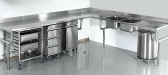meuble inox cuisine pro meuble inox cuisine matacriel inox pour votre cuisine