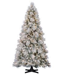 hallmark flocked artificial christmas tree tree classics