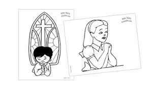childrens prayer coloring pages tags prayer coloring pages