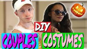 Easy Couple Halloween Costumes Diy Couple Halloween Costume Ideas Youtube