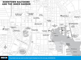 Printable Street Map Of Washington Dc by Printable Travel Maps Of Maryland Moon Travel Guides