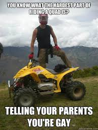 Quad Memes - just bought the wife a bike a quad actually with my wallet