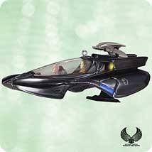 trek nemesis the scorpion hallmark ornament