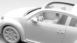 volkswagen beetle studio max 3d vw beetle turbo 2017 by creator 3d 3docean