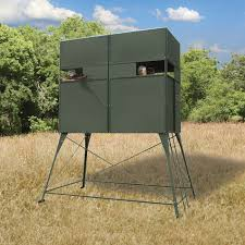 Deer Hunting Tower Blinds Deer Hunting Blind With 5 U0027 Stand Texas Hunter Products