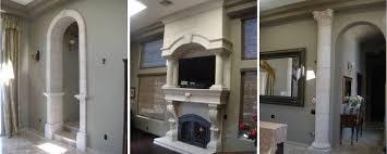 interior home columns decor best decorative wood columns interior design ideas cool and