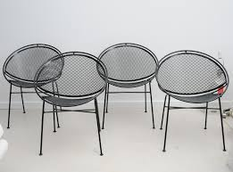 wrought iron chairs patio 52 best vintage mid century patio furniture images on pinterest