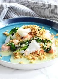 cuisiner poisson blanc duo de poissons en crumble et sauce à l échalote au vin blanc