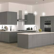 kitchen base cabinets with drawers home depot shaker base cabinets in gray kitchen the home depot