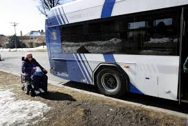 public transit more accessible for people with disabilities but