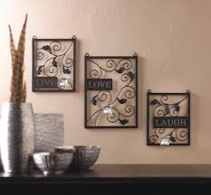 Love Home Decor Sign by Live Love Laugh Tealight Candleholder Wall Sconce What U0027s It Worth