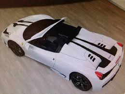 white 458 spider 458 speciale spider leaked may feature vs name
