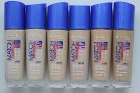 rimmel match perfection foundation review before u0026 after photos