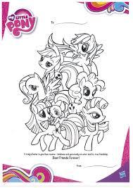 pony friendship magic coloring contest