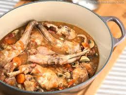 cuisiner un lievre au vin lapin sauté chasseur fiche recette avec photos meilleurduchef com