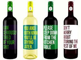 if wine bottle labels were honest ufunk net
