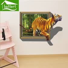 jungle wall stickers living room promotion shop for promotional wall stickers false windows jungle living room bedroom decorative murals can remove cartoon eal