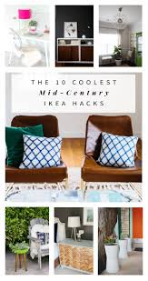 Ikea Vasteron Bench The 10 Coolest Mid Century Ikea Hacks Hither U0026 Thither