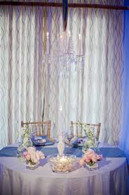 sweetheart table decor chic seaside wedding reception decor with sweetheart table