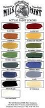 farmhouse paint color chart single step no prep no wax 32 a