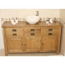 Valencia Bathroom Furniture Valencia Rustic Oak Large Bathroom Vanity Unit Best Price Guarantee