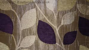 Aubergine Curtains Matisse By Porter In Aubergine Curtain Fabric