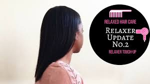 how to trim relaxed hair the healthy hair diary
