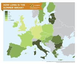 Baltic States Map Map Who Has The Longest And Shortest Summer Break In Europe Vox