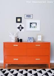 Modern Dressers Furniture by Best 20 Orange Dresser Ideas On Pinterest Diy Orange Furniture