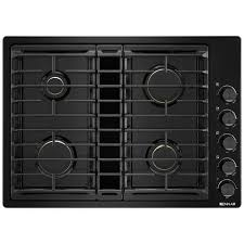 Best 30 Inch Gas Cooktop With Downdraft Kitchen Top Gas Downdraft Cooktops Appliances Pieratts Regarding
