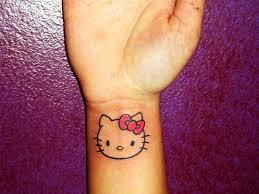 26 awesome kitty wrist tattoos