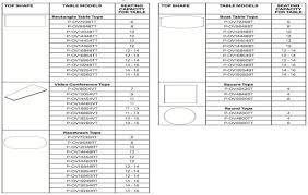 Standard Conference Table Dimensions Design Trends Categories Diy Overhead Garage Storage Rack Plans