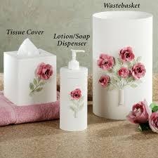 rose bathroom accessories bathroom design rose bathroom decor tsc